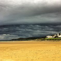 Rain Clouds over Woolacombe Beach