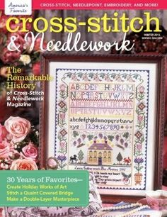 Cross Stitch & Needlework Magazine Winter 2016