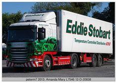 "Eddie Stobart Ireland ""Amanda Mary"" L7546 12-D-20838 Eddie Stobart Trucks, Amanda, Transportation, Ireland, Mary, Vehicles, Motorcycles, David, Classic"