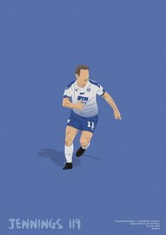 Tranmere Rovers Conor Jennings Play-Off Final 2019 Print Tranmere Rovers, Football Soccer, Rugby, Finals, Graphic Art, Framed Prints, Play, Artwork, Collection