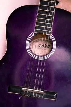 The Purple Guitar by voidboi, via Flickr.