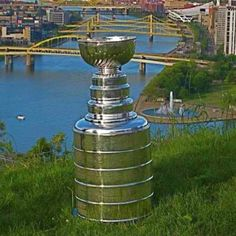 Stanley cup in Pittsburgh!