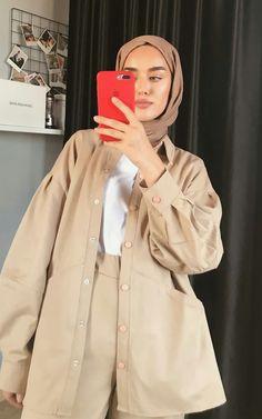 Hijab Fashion Summer, Modest Fashion Hijab, Korean Girl Fashion, Muslim Fashion, Modest Outfits, Conservative Fashion, Hijab Trends, Mode Hijab, Mode Inspiration