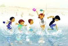 pascal campion: Beach day, Sf