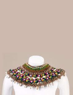 Sema-Neck Piece - Anita Quansah London - Nigeria  $1,990.00
