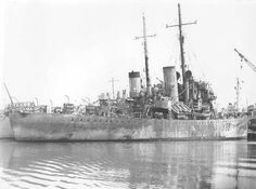 HMS Landguard (Y 56) On the 23th August 1943 the 40th Escort Group (Cdr. Dallison), consisting of the sloops HMS Landguard, HMS Bideford, HMS Hastings and the frigates HMS Exe, HMS Moyola and HMS Waveney were deployed on a U-boat hunt off Cape Ortegal. The whole operation was covered by the British light cruiser HMS Bermuda.  On the 25th August the Canadian 5th Support Group (Cdr. Tweed), consisting of the British frigates HMS Nene, HMS Tweed and the Canadian corvettes HMCS Calgary, HMCS…