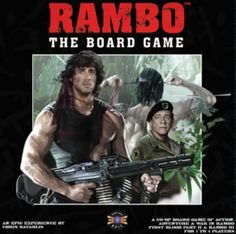 Coming Soon - Rambo: The Board Game | Co-op Board Games Top Board Games, Family Board Games, Rambo 3, Offline Games, First Blood, Cooperative Games, Sylvester Stallone, Epic Games, Tabletop Games