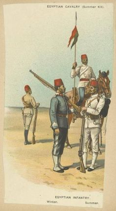 3 Naismith 15mm Sudan Campaign 1881-1898 CO24 Egyptian Cavalry Officers