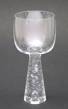 Viinilasi, Arkipelago, Timo Sarpaneva Wine Glass, Glass Art, Bottle Art, Retro Design, Scandinavian Design, Finland, Castle, Passion, Tableware
