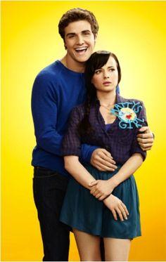 Beau Mirchoff as Matty and Ashley Rickards as Jenna