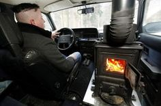 Cool DIY: First Ever Car With a Wood Burning Stove