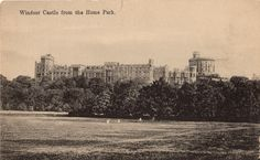 Old British postcard. Hagins collection.