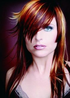 multicolor hair highlights | Multi-toned Hair Color 2012