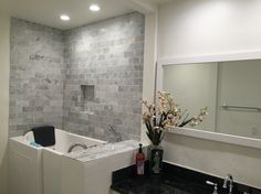 Senior Walk in Bathtubs by Tub King jax  ROOMS Bathroom Handicap Pinterest Tubs and Decorating