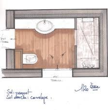 1000 images about r no salle de bain on pinterest - Plan amenagement salle de bain ...