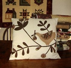 Primitive Pillow idea