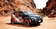 Toyota Rav4 Rally Car 2015