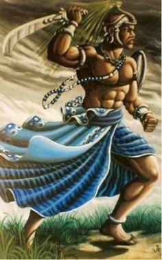 Valei-me Jorge guerreiro, valei-me meu padroeiro, valei-me Ogum. Ele me protege na descida, é quem traz a luz pra vida pra me livrar do mal olhado de quem só quer me derrubar.