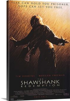 The Shawshank Redemption (1994) Solid-Faced Canvas Print