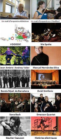 Concerts de la primera quinzena de març 2016 a L'Auditori (Barcelona)