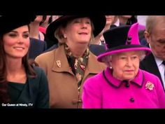 The Duchess of Cambridge talking about the Queen - YouTube