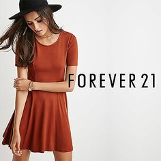 Up to 50% Off Forever21 Fall Dresses w/ Extra 10% Off Purchase (Online Only)