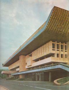 Lenin Palace of the Arts, Almaty, Kazakhstan, 1970 (N. Ripinsky, L. Ukhobotov, Yu. Ratushny, V. Kim, V. Alle)