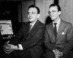 Alan Lerner & Fred Loewe (via masterworks.broadway)
