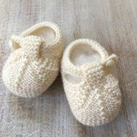 Baby Booties knitting and crochet project by Florence Merlin