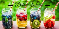 Recette de detox water pour une semaine détox de compète !
