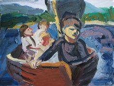 'The Swallows In The Boat' 2014 oil on wood, Swallows And Amazons, Painting & Drawing, Paintings, Oil, Drawings, Paint, Painting Art, Sketches, Painting