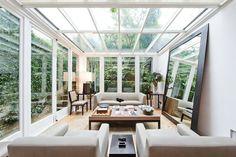 fechamento de teto para varanda com jardim - Pesquisa Google