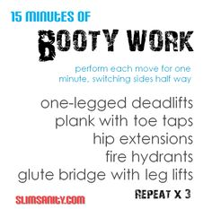 15 Minutes of Booty Work