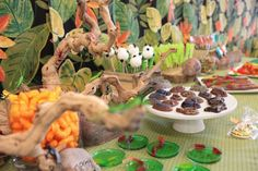 Boy's Bug & Insect Themed Birthday Party