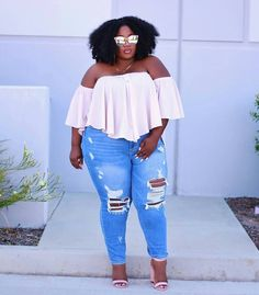It's time to prepare your summer wardrobe and add some off the shoulder cute looks! Well, we have rounded up some amazing plus size off the shoulder looks in our latest #TCFStyle Instagram roundup! TCFStyle Roundup: Keeping It Cute with These Summer Worthy Off the Shoulder Looks! http://thecurvyfashionista.com/2017/06/off-the-shoulder-plus-size-inspiration/