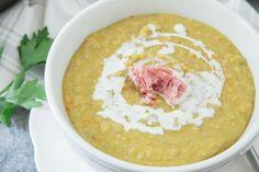 Uncle Bill's Green Split Pea With Hambone Soup | Genius Kitchen