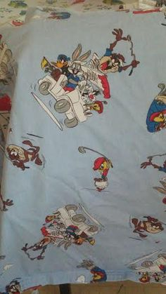 Vintage/ out of print/ collectable Looney Tunes Apron one size fits most by RoseCityCrafter on Etsy