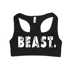 FTD Apparel Womens Beast Active Sports Bra Medium Black >>> Read more at the image link. (This is an affiliate link) Yoga Bra, All About Fashion, Running Women, Fun Workouts, Fit Women, Cross Fitness, Cool Things To Buy, Fashion Outfits, Clothes For Women