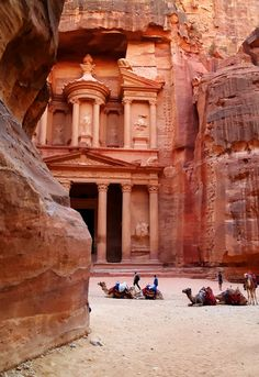 Petra, Jordan. ** I would love to visit Petra. - Explore the World with Travel Nerd Nici, one Country at a Time. http://TravelNerdNici.com