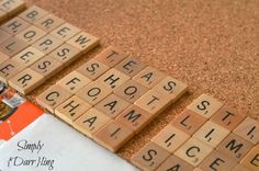 25 Super Cool Uses for Old Scrabble Games & Pieces | Garage Sale Blog | gsalr.com