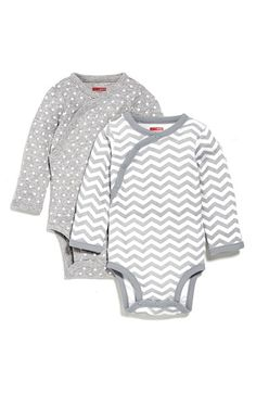 Skip Hop Long Sleeve Bodysuits (Set of 2) (Baby Girls) available at #Nordstrom