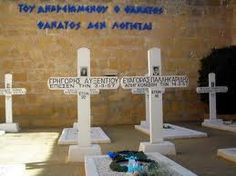 In an enclosure within the Central Prison complex rest nine young men convicted and hanged by the British Administration, during the course of the Liberation Struggle of