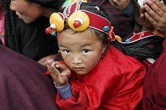 Young girl. Dzongsar, eastern Tibet, 2004 ~ photograph by Matthieu Ricard