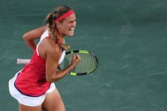 Monica Puig vs. Angelique Kerber: Olympic Tennis Women's Final Score, Reaction | Bleacher Report