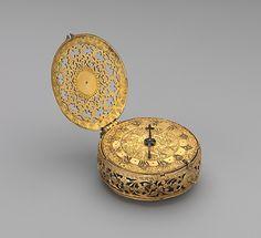 Clock-watch ::  Watchmaker: Michael Nouwen (recorded 1571, died 1613)