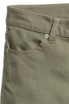 Keprové šortky - Zelená khaki - ŽENY | H&M CZ 2