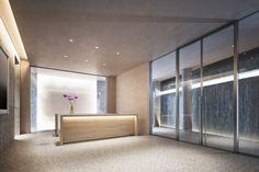 Lobby - 152 Elizabeth Street by Tadao Ando
