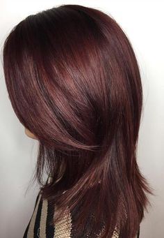 Dark Mahogany Natural Hair Color Dark Brown Hair Mahogany Hair Color Over Natural Hair Mahogany Brown Hair Color, Hair Color Dark, Brown Hair Colors, Mahogany Highlights, Peekaboo Highlights, Purple Highlights, Hair Colour, Dark Hair, Protective Hairstyles