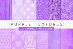 Purple Digital Textures. Textures. $3.00