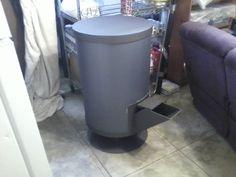 rocket stove mass heater | Rocket Mass Heater that looks modern and works amazing! (wood burning ...